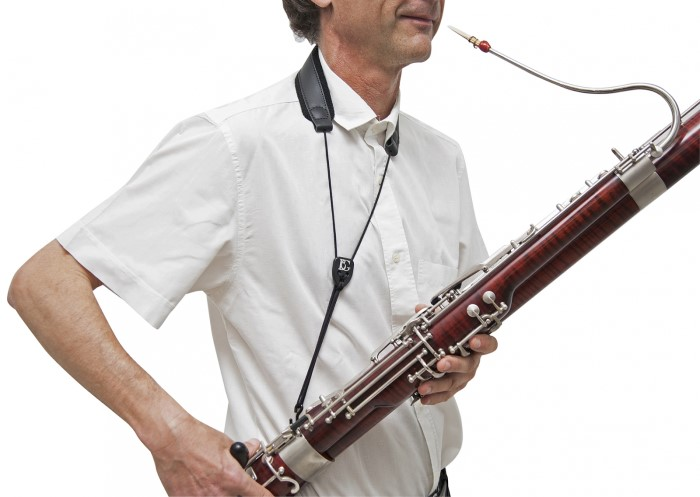 BG Bassoon Leather Neck Strap