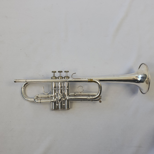 Bach Strad 229 'C' Trumpet #83800 - Used