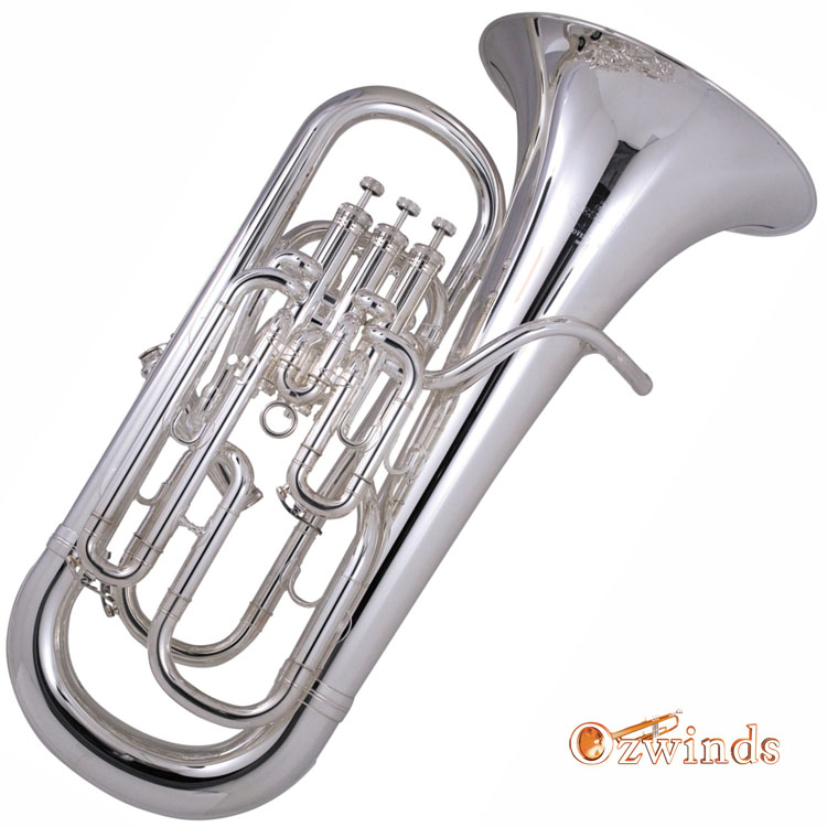 Besson Sovereign Euphonium 967 (Silver Plated)