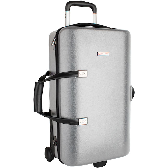 Protec Single / Double / Triple Trumpet ZIP Case (Silver)