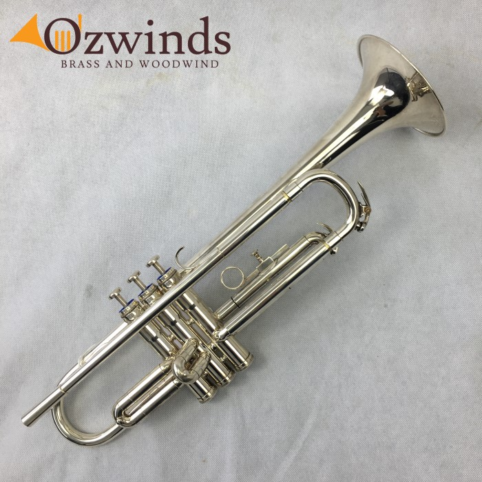 Besson 600 Student Trumpet Silver Plate (USED) #717612