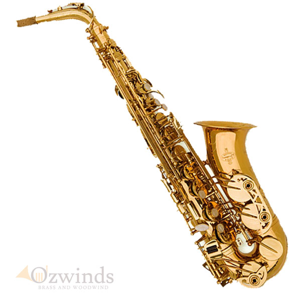 Buffet 100 Series Student Alto Sax, With Clark W Fobes Debut Mouthpiece