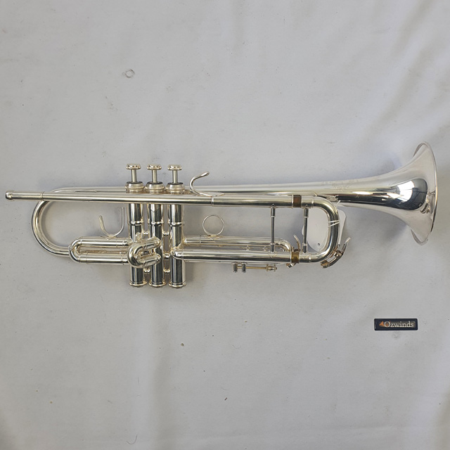 B&S Challenger I Trumpet Silver 3137-2 Serial No. 110786 - Used