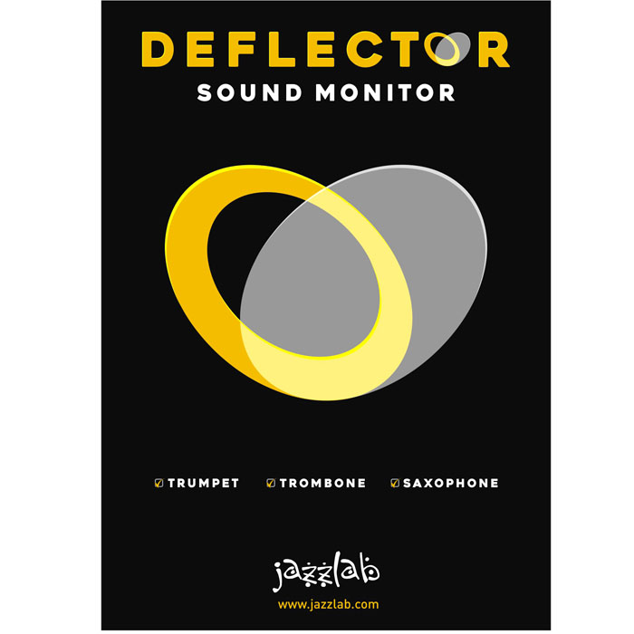 JAZZLAB New DEFLECTOR-PRO Sound Monitor For Trumpet and more.