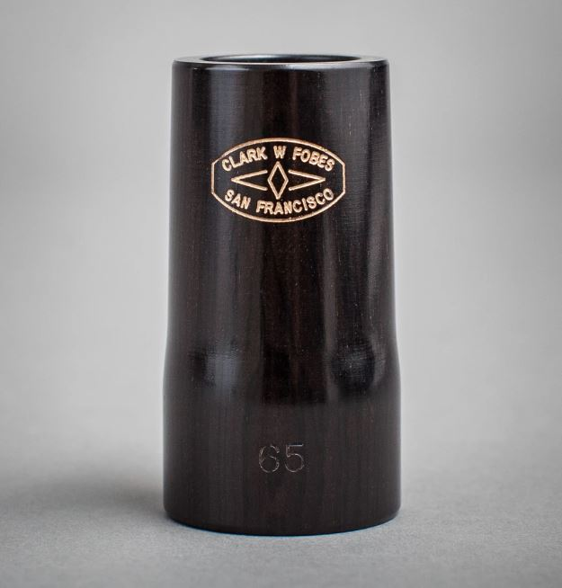 Clark W Fobes Handmade Barrel for Yamaha CSG Clarinets