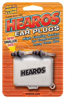 HEAROS - Ear Plugs For Small Ear Canals