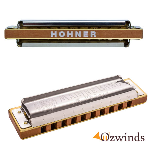 Hohner Marine Band 1896 Harmonic Minor Harmonica