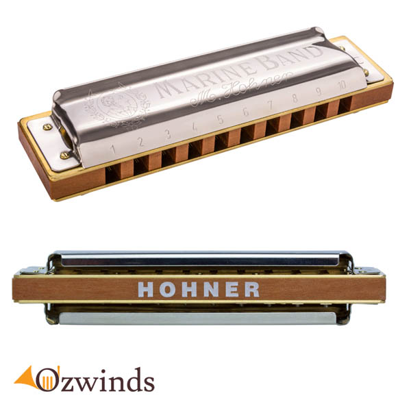 Hohner Marine Band 1896 Natural Minor Harmonica