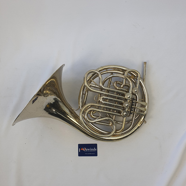 Holton H177 Nickel Plate French Horn - Used
