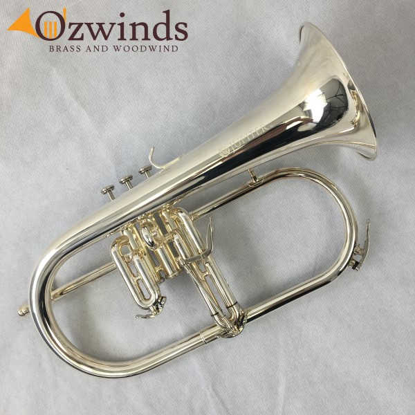 Jupiter JFH-1100RS Silver Plated Flugelhorn (USED) #UA00486