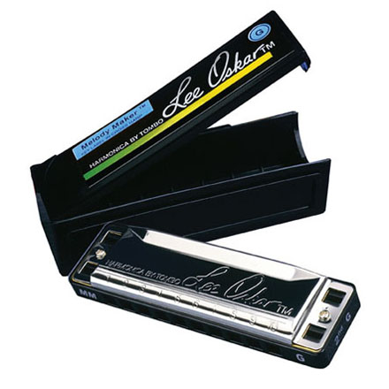 Lee Oskar Melody Maker Harmonica, Key of A