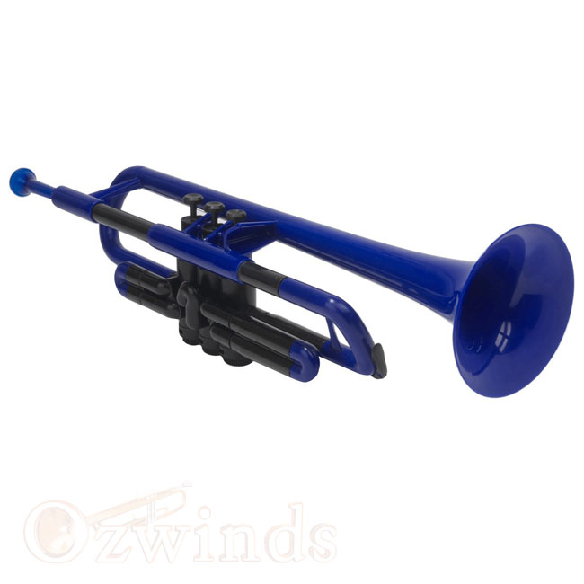 pTrumpet - The Plastic Trumpet (Blue and Black)