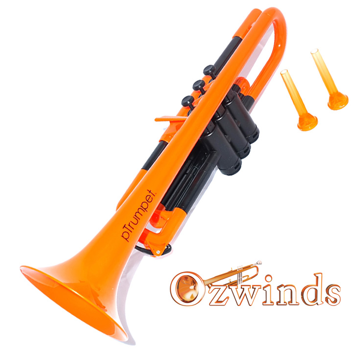 pTrumpet - The Plastic Trumpet (Orange and Black)
