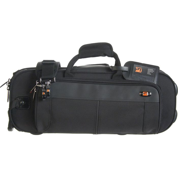 PROTEC Contoured Trumpet PRO PAC Case (Black) with a Free Lock.
