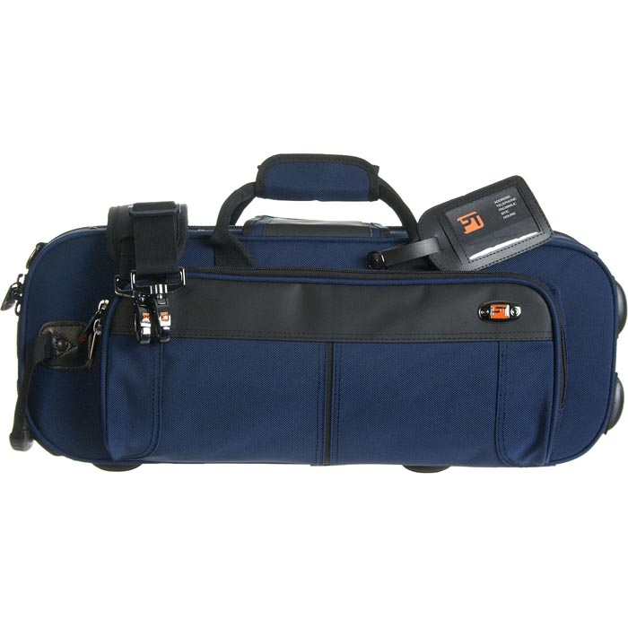 PROTEC Contoured Trumpet PRO PAC Case (Blue) with a Free Lock