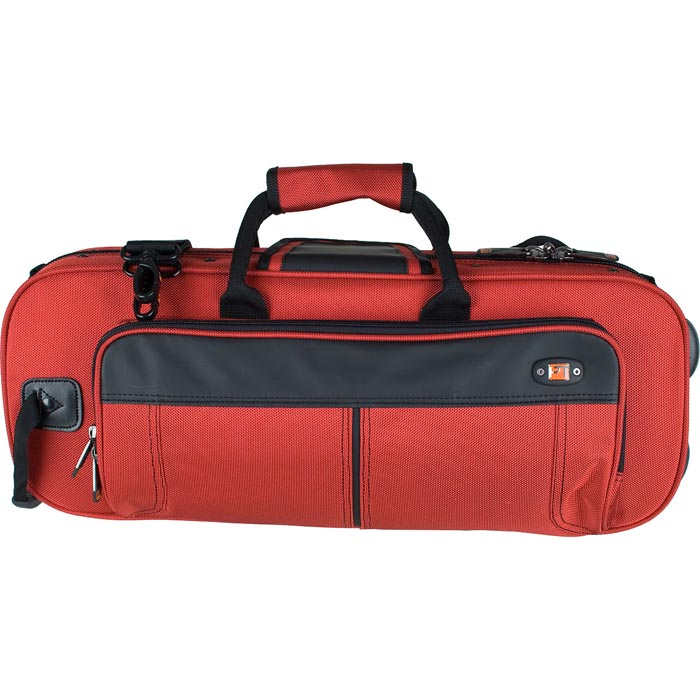 PROTEC Contoured Trumpet PRO PAC Case (Red) with a Free Lock