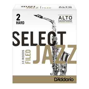 D'Addario Select Jazz Filed Alto Saxophone Reeds (Box of 10)