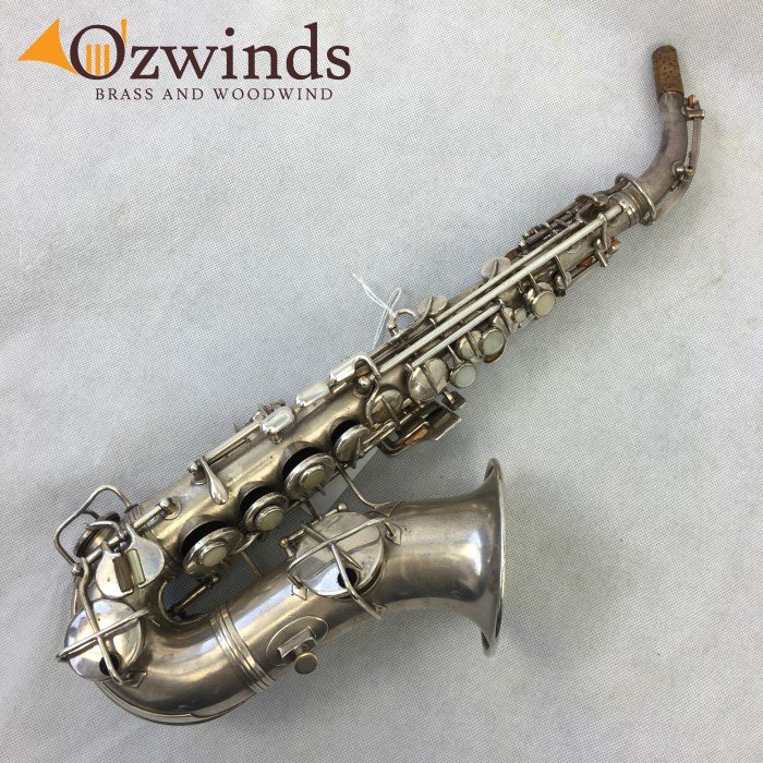 1921 Conn New Wonder Curved Soprano Saxophone (USED) #72709