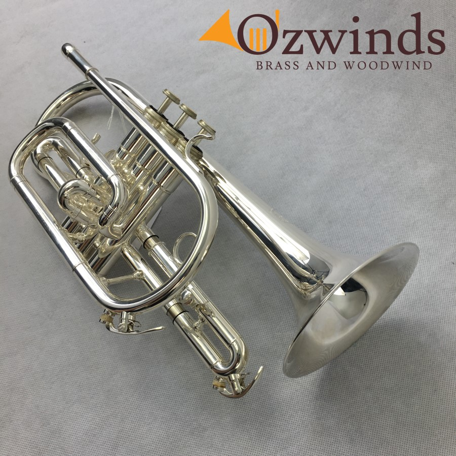 Solo Silver-plated Student Cornet (USED) #0711019