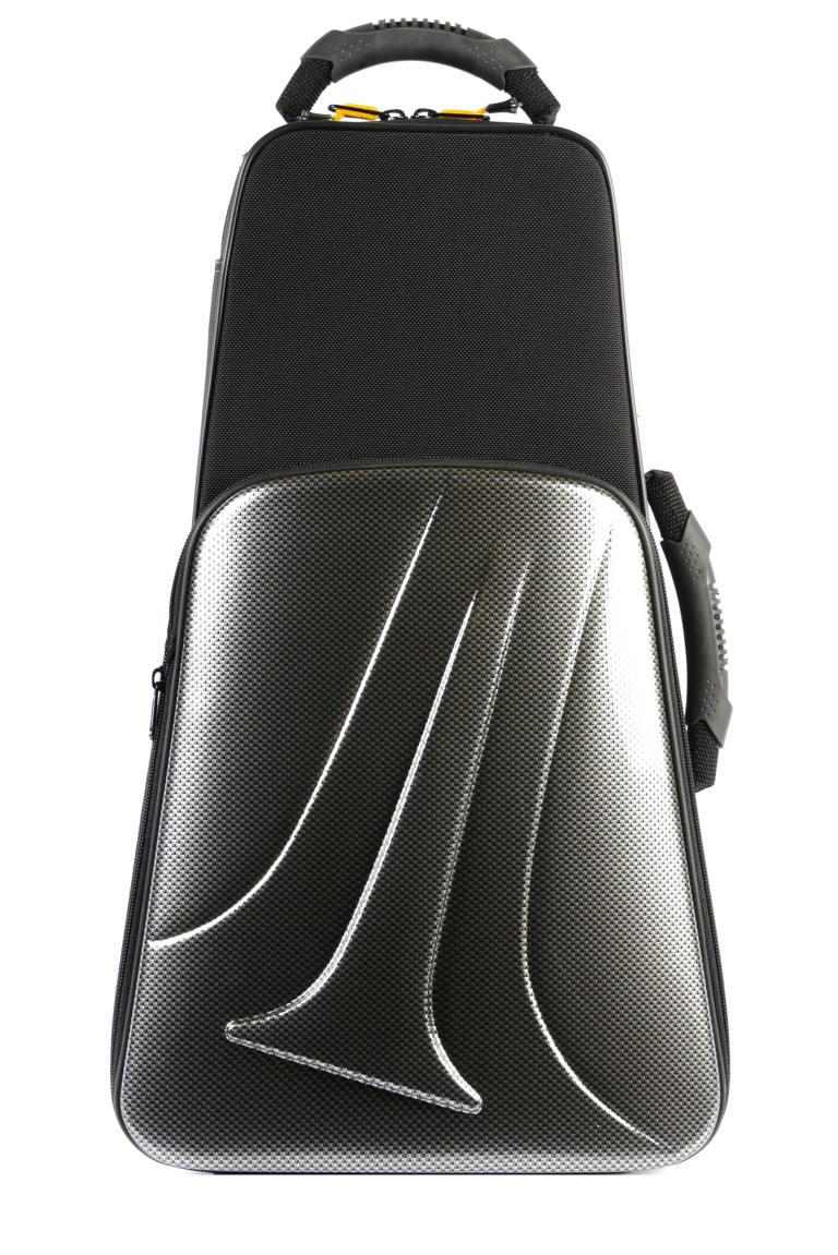 BAM New Trekking Single Trumpet Case (Silver Carbon Look)