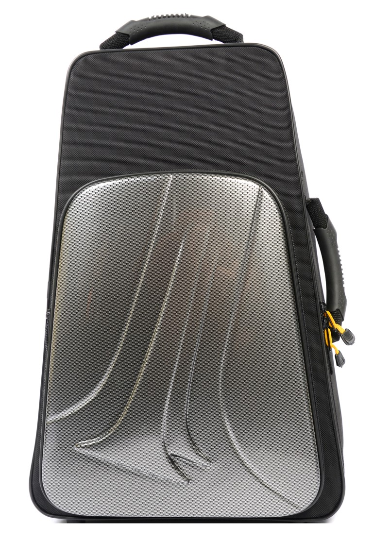 BAM New Trekking Double Trumpet Case (Silver Carbon)