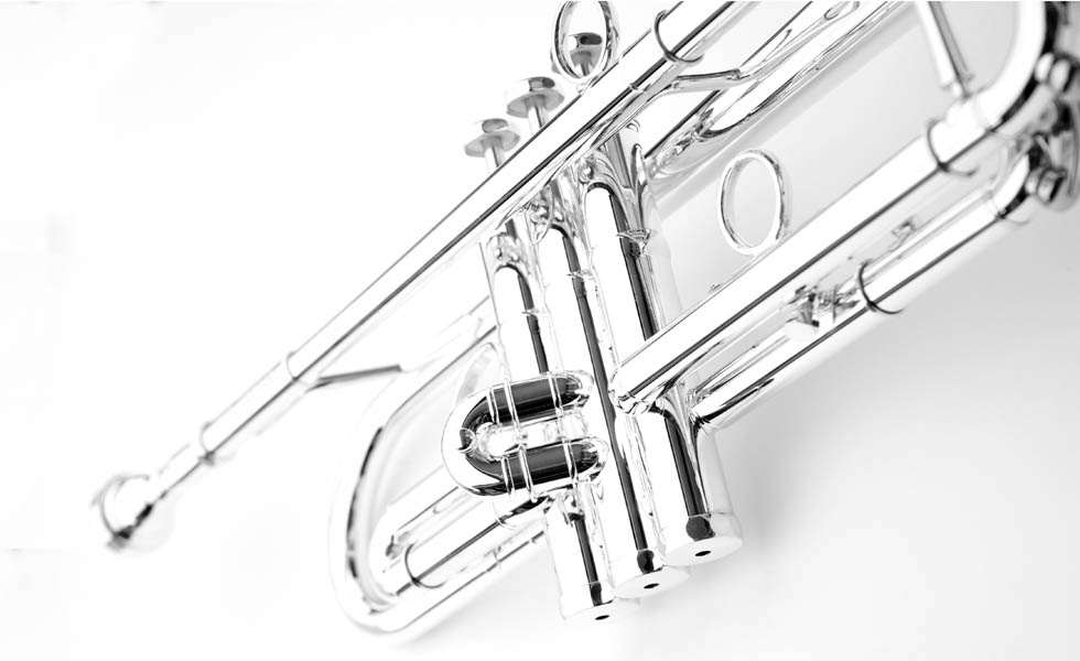 Schagerl James Morrison Jazz JM1S Trumpet. (Silver finish)