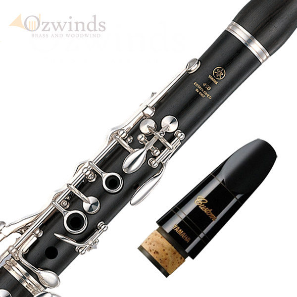 Yamaha YCL-450 Clarinet - With Upgraded Yamaha Custom 4CM Mouthpiece