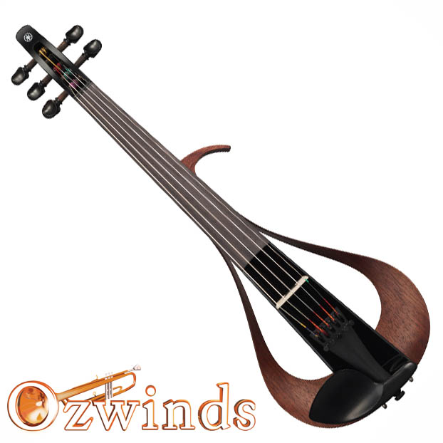 Yamaha YEV-105BL1 Five String Electric Violin (Black)