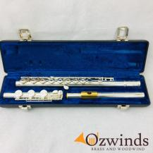 Olds Solid Silver Flute w/ Gold Lip #660961