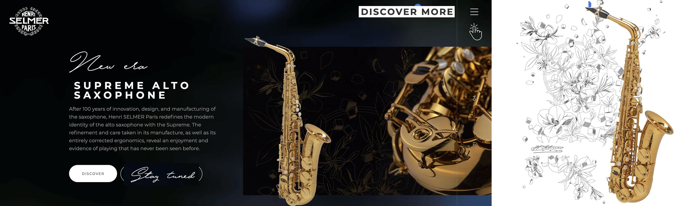 Selmer Paris Supreme Alto Saxophone