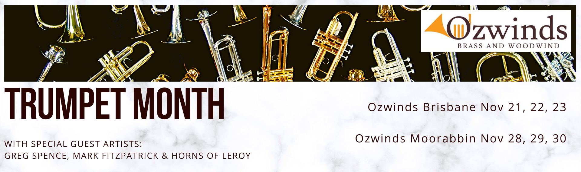 Trumpet Month at Ozwinds