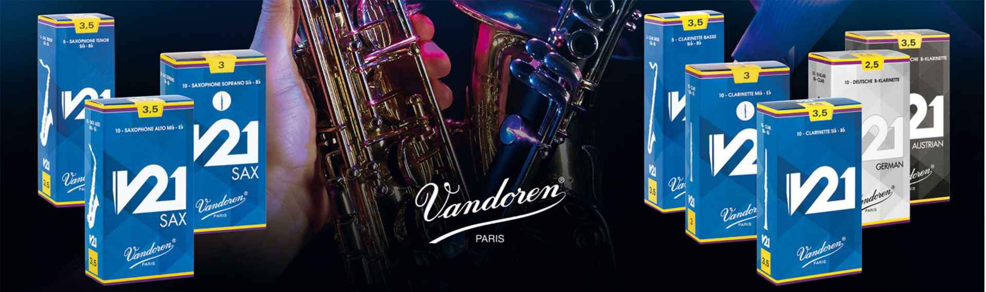 Vandoren V21 Sax and Clarinet Reeds