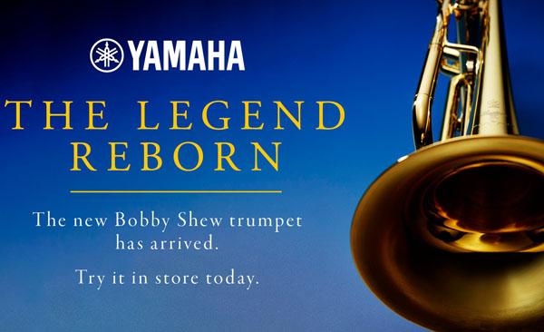 New Bobby shew YTR-8310ZIII